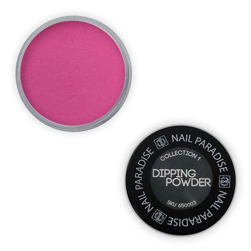 Dipping Powder  - perfect pour - Darkest pink  - 65OOO3 30gm