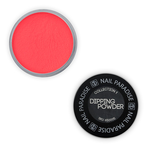 Dipping powder - Perfect Pour -  Floro Orange dark - 650005 30gm