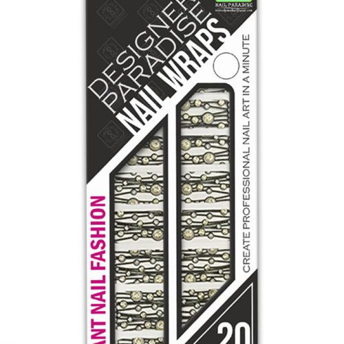 With Nail Paradise Wraps you can create an amazing design for natural or artificial nails. Nail Wraps are thin, flexible and they perfectly fit nail plates. You can count on the incredible picture clarity and color saturation. Also Nail Paradise Wraps can be used as decoration even for the smallest deigns.