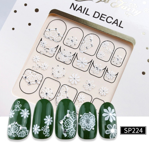 3D Lux Nail Stickers  SP224