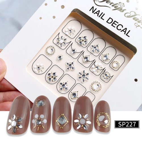 3D Lux Nail Stickers SP227