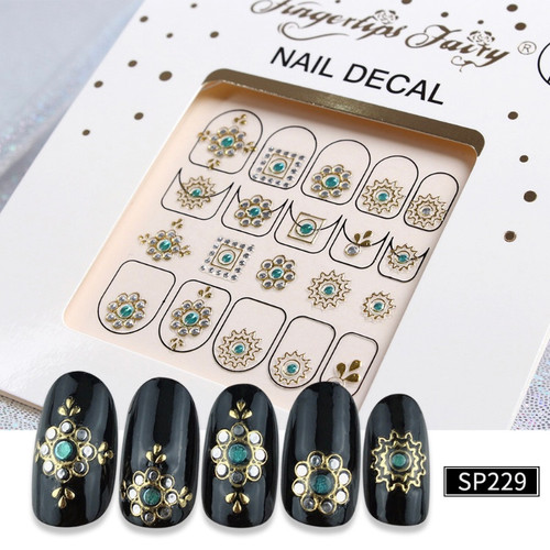 3D Lux Nail Stickers  SP229