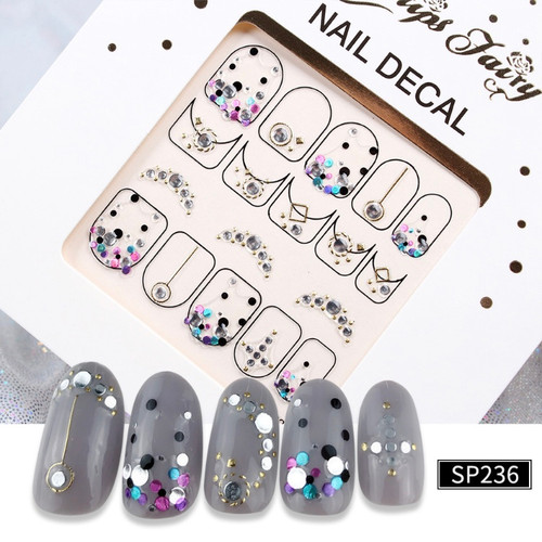 3D Lux Nail Stickers   SP236