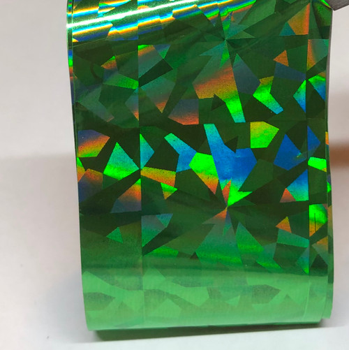 Foil  0005 - Green holographic