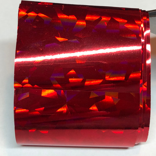 Foil  0013 - Red holographic