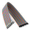3802-1920-0050 - 1-Pos TJC8 Jumper Wire (MH-FC to FH-MC, Multicolor, 50cm Length) - 40 Pack
