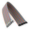 3804-2020-0050 - Male to Male Jumper Wire (Multicolor, 50cm Length) - 40 Pack