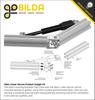 Hitec Linear Servo (50mm Stroke, 4.1mm/sec,  22.2kg Thrust)