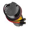5203 Series Yellow Jacket Planetary Gear Motor (71.2:1 Ratio, 24mm Length 8mm REX Shaft, 84 RPM, 3.3 - 5V Encoder)
