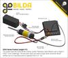 5204 Series Yellow Jacket Planetary Gear Motor (3.7:1 Ratio, 80mm Length 8mm REX Shaft, 1620 RPM, 3.3 - 5V Encoder)