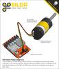 5204 Series Yellow Jacket Planetary Gear Motor (50.9:1 Ratio, 80mm Length 8mm REX Shaft, 117 RPM, 3.3 - 5V Encoder)