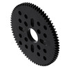 72 Tooth Hub-Mount Gear (MOD 0.8, 4mm Thick Acetal)