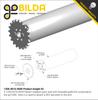 Threaded REV to Thru-Hole goBILDA Pattern Adaptor (16-9)