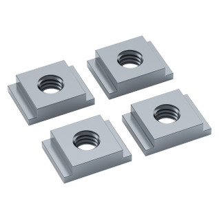 2805-0004-0008 - 2805 Series Zinc-Plated Steel goRAIL Nut (4-8) - 4 Pack