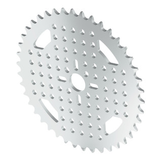 3310-0014-0042 - 3310 Series 8mm Pitch Aluminum Hub Mount Sprocket (14mm Bore, 42 Tooth)