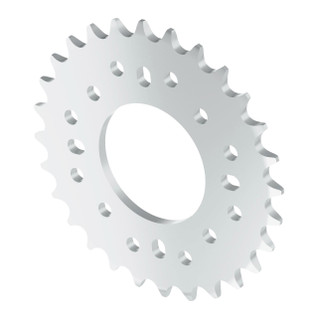 3310-0032-0028 - 3310 Series 8mm Pitch Aluminum Hub Mount Sprocket (32mm Bore, 28 Tooth)