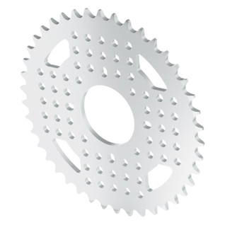 3310-0032-0042 - 3310 Series 8mm Pitch Aluminum Hub Mount Sprocket (32mm Bore, 42 Tooth)