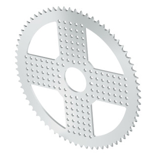 3310-0032-0070 - 3310 Series 8mm Pitch Aluminum Hub Mount Sprocket (32mm Bore, 70 Tooth)