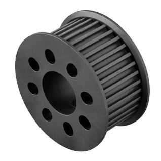 3402-0014-0036 - 3402 Series 3mm HTD Pitch Plastic Hub Mount Timing Belt Pulley (14mm Bore, 36 Tooth)