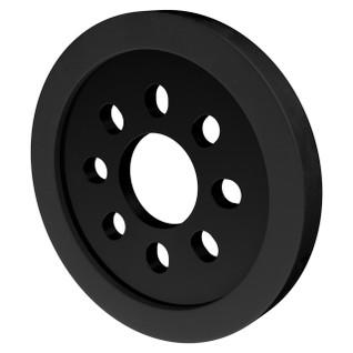 3607-0014-0048 - 3607 Series Disc Wheel (14mm Bore, 48mm Diameter, Black) - 2 Pack