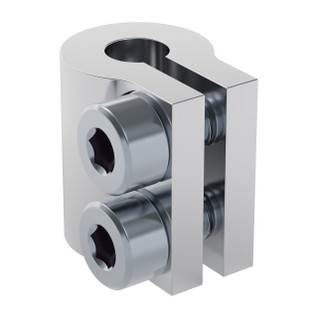 4000-0005-0006 - 4000 Series Clamping Shaft Coupler (5mm Round Bore to 6mm Round Bore)