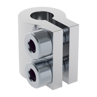"4000-0006-0250 - 4000 Series Clamping Shaft Coupler (6mm Round Bore to 0.250"" Round Bore)"