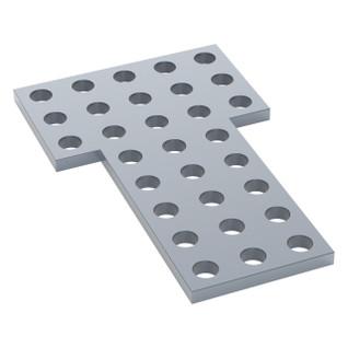 1137-0002-0001 - 1137 Series Steel Flat Grid Bracket (2-1) - 2 Pack