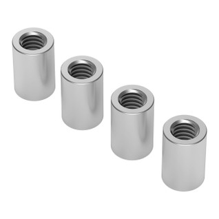 1501-0006-0090 - 1501 Series M4 x 0.7mm Standoff (6mm OD, 9mm Length) - 4 Pack
