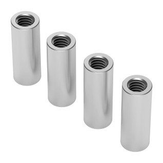 1501-0006-0160 - 1501 Series M4 x 0.7mm Standoff (6mm OD, 16mm Length) - 4 Pack