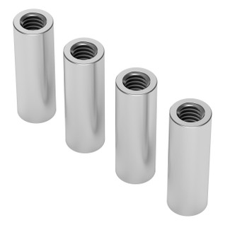 1501-0006-0180 - 1501 Series M4 x 0.7mm Standoff (6mm OD, 18mm Length) - 4 Pack