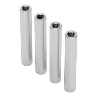 1501-0006-0380 - 1501 Series M4 x 0.7mm Standoff (6mm OD, 38mm Length) - 4 Pack