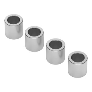 1502-0006-0060 - 1502 Series 4mm ID Spacer (6mm OD, 6mm Length) - 4 Pack