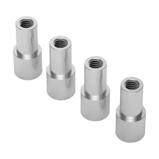 1503-6100-8080 - 1503 Series M4 x 0.7mm Shoulder Standoff (6-8mm OD, 10-8mm Length) - 4 Pack