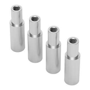 1503-6100-8190 - 1503 Series M4 x 0.7mm Shoulder Standoff (6-8mm OD, 10-19mm Length) - 4 Pack