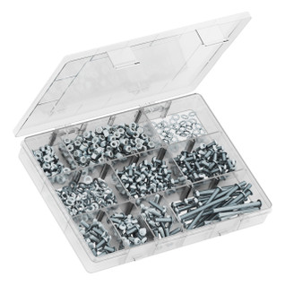 3201-0004-0002 - M4 Button Head Screw Assortment Pack