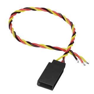 3800-0018-0150 - 3-Pos TJC8 Servo Lead (FH-MC, 150mm Length) - 2 Pack