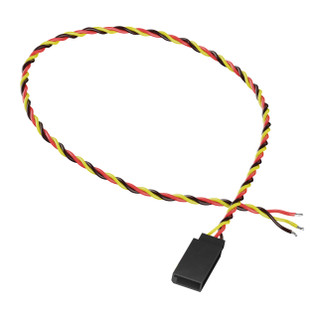3800-0018-0300 - 3-Pos TJC8 Servo Lead (FH-MC, 300mm Length) - 2 Pack