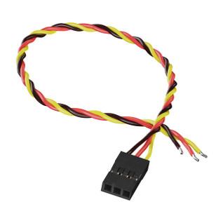 3800-0017-0150 - 3-Pos TJC8 Servo Lead (MH-FC, 150mm Length) - 2 Pack