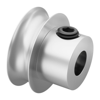 Set Screw Round Belt Pulleys