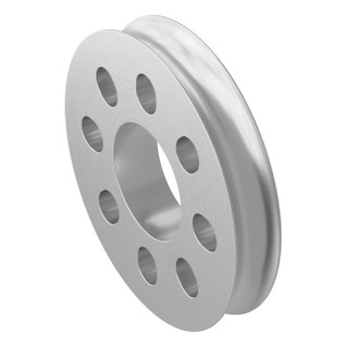 Hub Mount Round Belt Pulleys