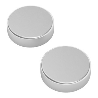 2912-0005-0001 - 2912 Series Neodymium Magnet (5mm Diameter, 1.5mm Thickness) - 2 Pack