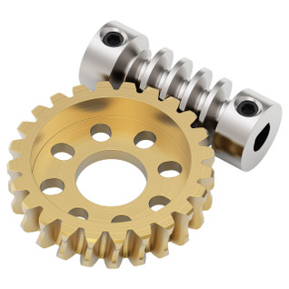 24:1 Ratio Worm Gear Set