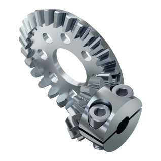 2:1 Ratio Bevel Gear Set (6mm D-Bore Pinion Gear)