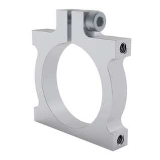 1401-0043-0032 - 1401 Series 2-Side, 2-Post Clamping Mount (43mm Width, 32mm Bore)
