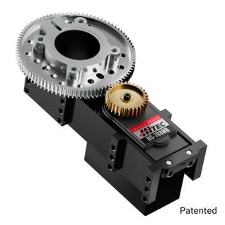 3206-0002-0003 - 3206 Series Servo Gearbox (3:1 Ratio, Hitec HS-788HB Servo)