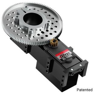 3206-0002-0009- 3206 Series Servo Gearbox (9:1 Ratio, Hitec HS-788HB Servo)