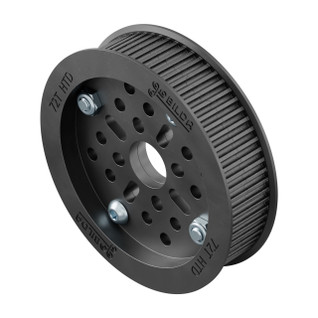 3402-0014-0072 - 3402 Series 3mm HTD Pitch Plastic Hub Mount Timing Belt Pulley (14mm Bore, 72 Tooth)