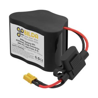 3100-0006-0003 - (6V, 3000mAh, XT30 Connector [MH-FC], 20A Fuse, 6-3)