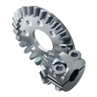 2:1 Ratio Bevel Gear Set (8mm REX Bore Pinion Gear)