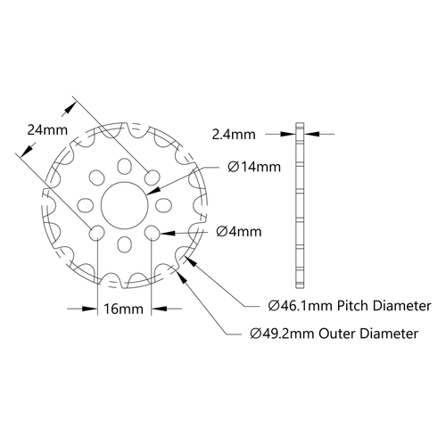 18 Teeth 1 Finished Bore 1 Pitch 1 Finished Bore Bearings Ltd. TRITAN 80BS18H X 1 Finished Bore B-Hub Sprocket 1 Pitch